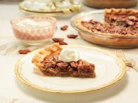 Pecan Pie with Vanilla Whipped Cream