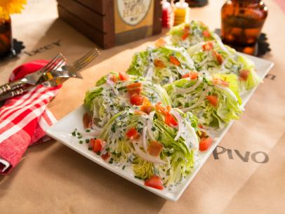 Wedge salad recipe tiffani thiessen cooking channel forumfinder Gallery