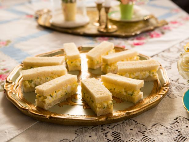 Truffled Egg Salad Tea Sandwiches
