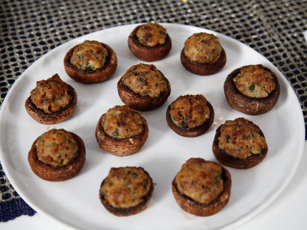 Sausage stuffed mushrooms recipe tia mowry cooking channel sausage stuffed mushrooms forumfinder Choice Image