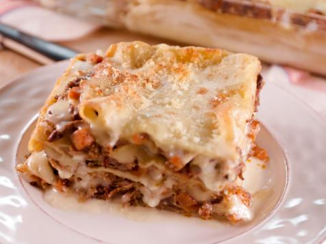 Short Rib and Bechamel Lasagna