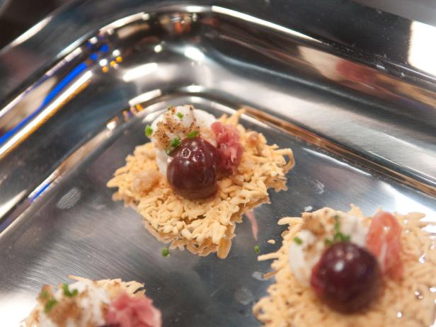 Baked Goat Cheese with Pop-Tartsandreg; Crumble