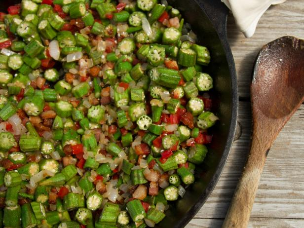 Skillet Okra Recipe Cooking Channel