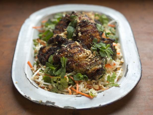 Chicken recipes cooking channel cooking channel vietnamese crispy chicken salad forumfinder Choice Image