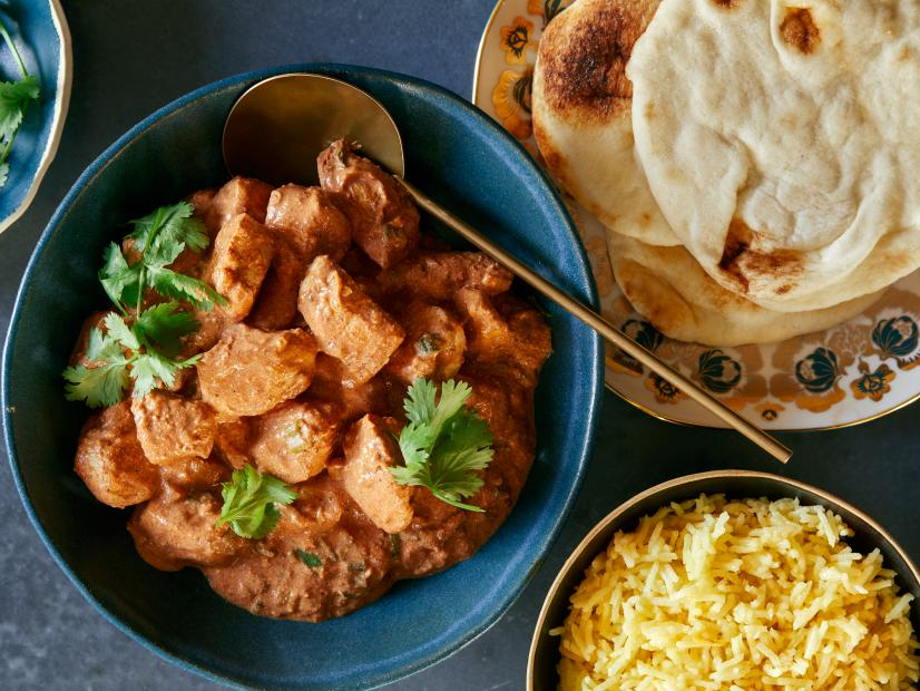 Chicken Tikka Masala With Fluffy Basmati Rice Recipe Lorraine Pascale Cooking Channel