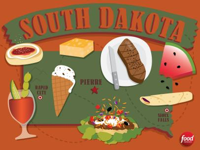 the best food in south dakota best food in america by state food network food network