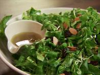 Cherry, Almond and Herb Salad
