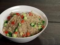 Cucumber Bell Pepper Quinoa