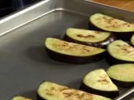 Grilled Pickled Eggplant
