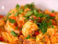 Jambalaya Shrimp and Ham