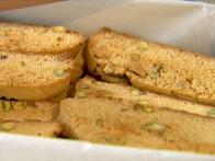 Honey Pistachio Biscotti