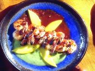 Camarones al Carbon: Grilled Tiger Shrimp with Two Sauces