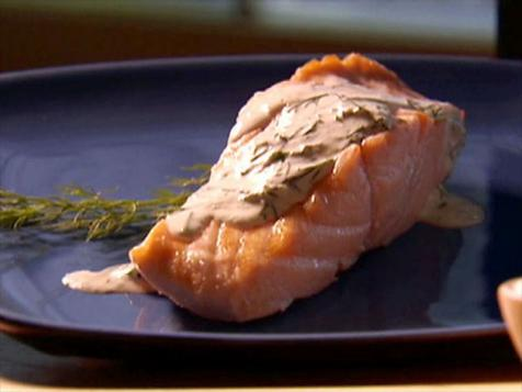 Dad's Poached Salmon