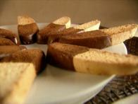 Rich Chocolate Citrus Biscotti