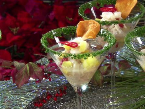 Scallop and Pineapple Ceviche