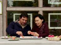 Carving Veggies in Alaska