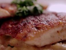 Cooking Channel serves up this G's Lafayette-Inspired Redfish and Polenta recipe from G. Garvin plus many other recipes at CookingChannelTV.com