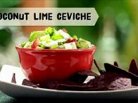 Coconut Lime Ceviche
