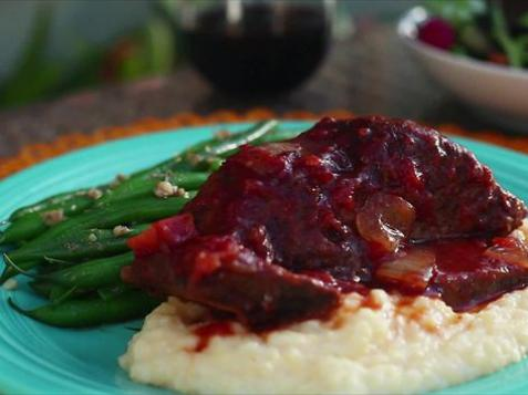 Red Wine and Tomato Short Ribs