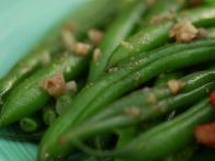 Anchovy-Wine Green Beans
