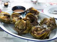 Tiffani's Grilled Artichokes