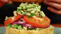 Tex-Mex Tuna Salad Sandwich