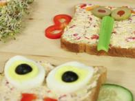 Open-Face Animal Sandwiches