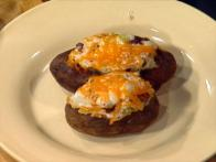 Cheddary Micro Baked Potatoes